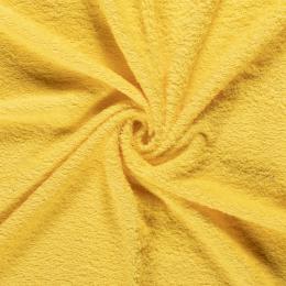 Terry Towelling Fabric | Hard Yellow