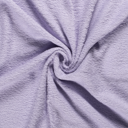 Terry Towelling Fabric | Lilac