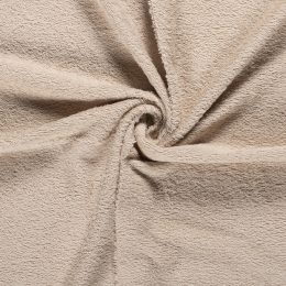 Terry Towelling Fabric | Sand