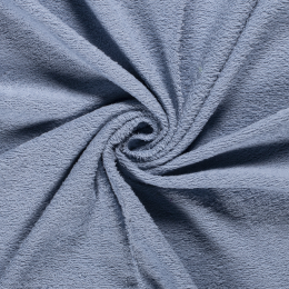 Terry Towelling Fabric | Mid Blue
