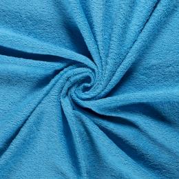 Terry Towelling Fabric | Mid Aqua