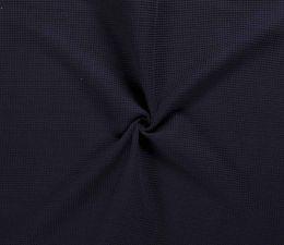 Cotton Waffle Fabric | Navy
