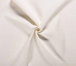 Cotton Waffle Fabric | Off White