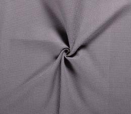 Cotton Waffle Fabric | Mid Grey