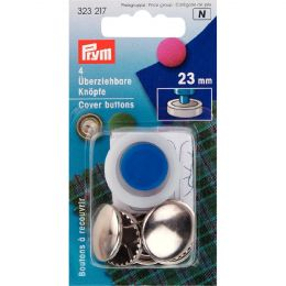 Cover Buttons with Tool | 23mm Silver - Metal | Prym