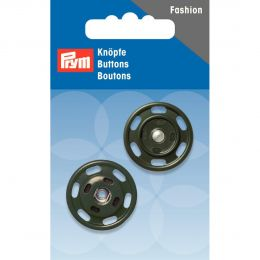 Snap Fastener, 25mm Dark Green | Prym