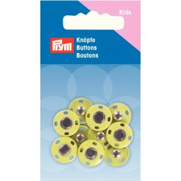 Snap Fastener, 14mm Yellow | Prym