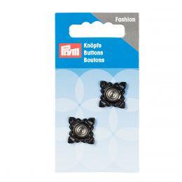 Snap Fastener, Square 21mm Black | Prym
