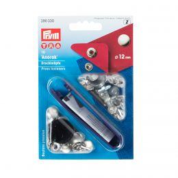 12mm Silver | Anorak Press Fasteners & Tool | Prym