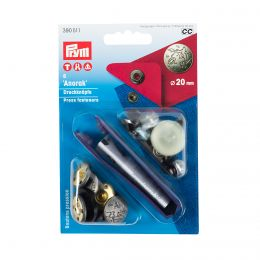 20mm Anorak Press Fastener & Tool | Design Excursion | Prym