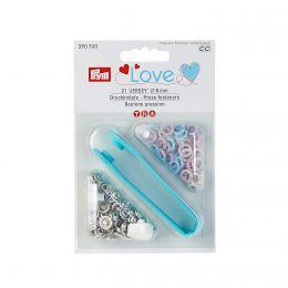 8mm Pastel, Jersey Ring Press Fasteners & Tool | Prym Love