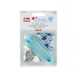 8mm Cools, Jersey Ring Press Fasteners & Tool   Prym Love