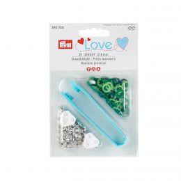 8mm Greens, Jersey Ring Press Fasteners & Tool | Prym Love