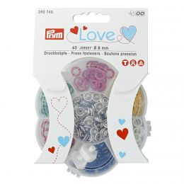 8mm, Jersey Ring Press Fasteners & Tool - Multipack   Prym Love