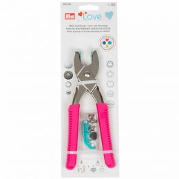 Prym Love Vario Pliers for Snap Fasteners - Pink 390902 | Empress Mills Sewing