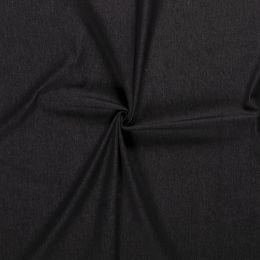 7.5oz Premium Twill Denim Fabric | Black