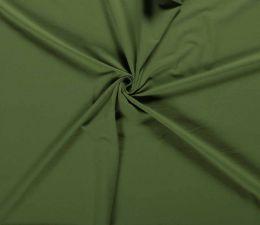 Plain Cotton Rich Jersey | Khaki Green