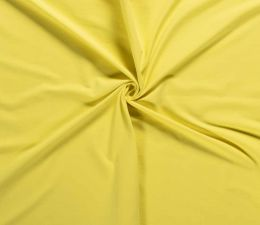 Plain Cotton Rich Jersey | Bright Yellow