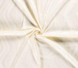 Plain Velboa Faux Fur Fabric | Off White