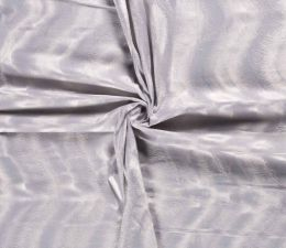 Plain Velboa Faux Fur Fabric | Light Silver