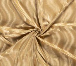 Plain Velboa Faux Fur Fabric | Gold