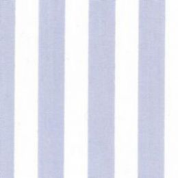 Classic Stripe Fabric   Pale Blue