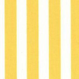 Cotton Print Fabric Stripe | Yellow