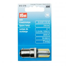 LED Spare Lamp, for Sewing Machine, Bayonet Socket | Prym