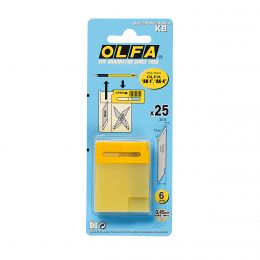 Olfa Art Knife Blade Replacements | 25 Pack