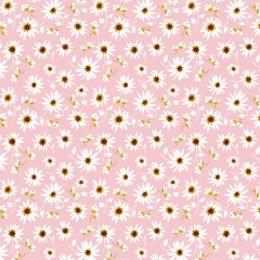 Farm Girls Unite Fabric | Asters Pink