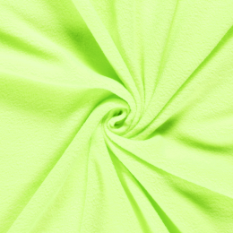 Stitch It Anti Pil Fleece   Neon Lime Green