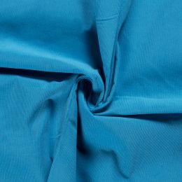21w Needlecord Fabric   Aqua