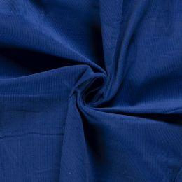 21w Needlecord Fabric   Cobalt