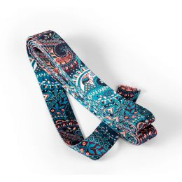 Strap For Bags 40mm x 3m Card | Turquoise Paisley