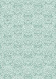 Hummingbird Lewis & Irene Fabric | Hummingbird Silhouette Duck Egg