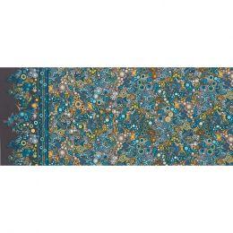 Effervescence Fabric | Full Width Border Riviera