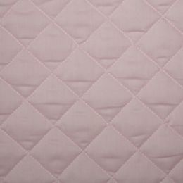 Classic Polycotton Fabric Quilted | Pale Pink