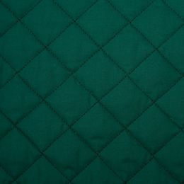Classic Polycotton Fabric Quilted | Bottle green