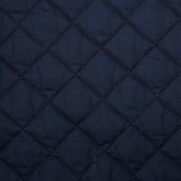 Classic Polycotton Fabric Quilted | Navy
