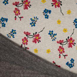 Luxury Sweatshirt Fabric   Flowers