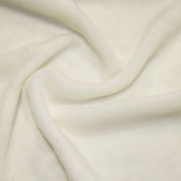 Mohair Touch Coating Fabric | Cream