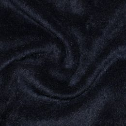 Mohair Touch Coating Fabric | Navy