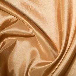 Plain Shot Taffeta Fabric | Wheat