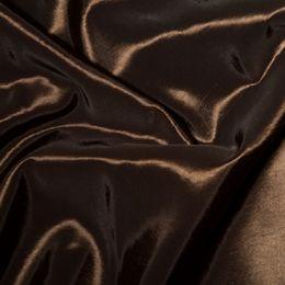 Plain Shot Taffeta Fabric   Brown