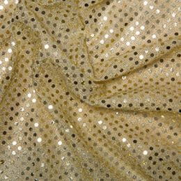 Sequin Fabric 3mm | Gold
