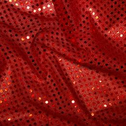 Sequin Fabric 3mm | Red