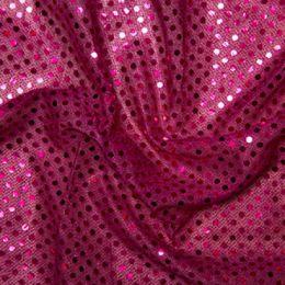Sequin Fabric 3mm | Cerise