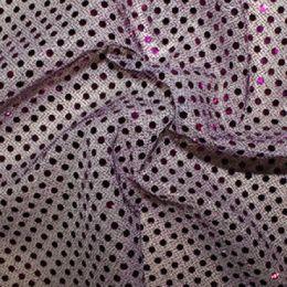 Sequin Fabric 3mm | Purple