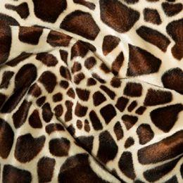 Animal Print Velboa Fabric Faux Fur | Little Giraffe