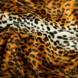 Animal Print Velboa Fabric Faux Fur | Cheetah